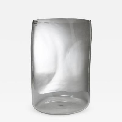Fratelli Barbini Large Crystal Vase by Barbini