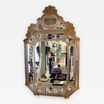 Fratelli Barbini Venetian Mirror by Barbini