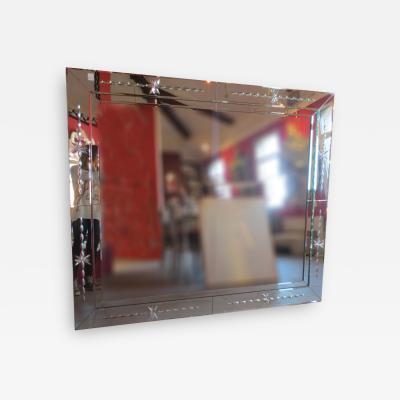 Fratelli Barbini Vintage Venetian Mirror by Fratelli Barbini of Murano