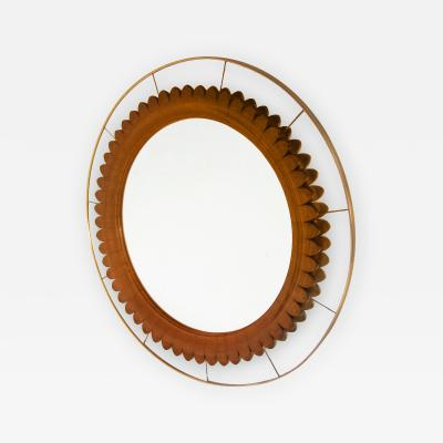 Fratelli Marelli Modernist Mirror Designed by Fratelli Marelli