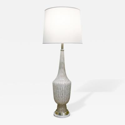 Fratelli Toso Fratelli Toso Attributed Monumental Glass Table Lamp 1950s