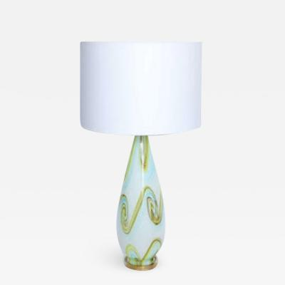 Fratelli Toso Fratelli Toso Italian Art Glass Table Lamp