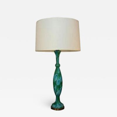 Fratelli Toso Fratelli Toso Table Lamp Mid Century Modern Murano Art Glass 1950s