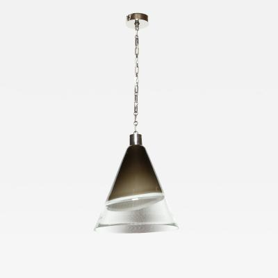 Fratelli Toso Murano glass ceiling pendant by Leucos