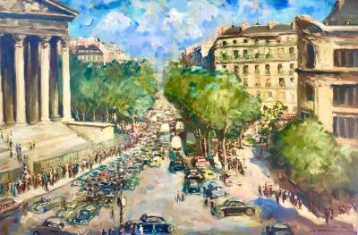 Fred De Bock La Madeleine Paris