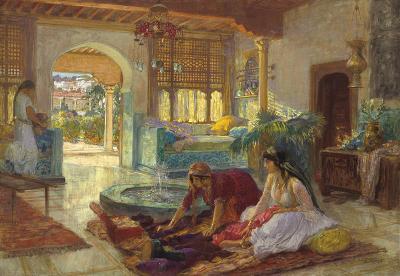 Frederic Arthur Bridgman The Fountain Room