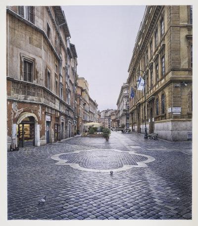 Frederick Brosen Piazza delle Cinque Scole