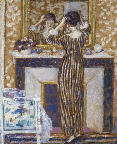 Frederick Carl Frieseke Before the Mirror
