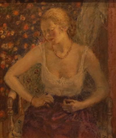 Frederick Carl Frieseke Woman Dressing