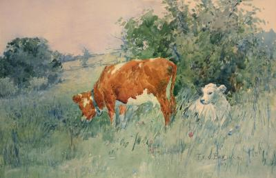 Frederick Charles Vipond Ede Spring Calf