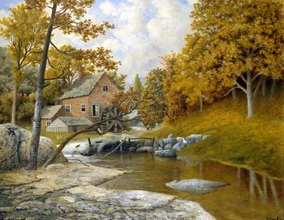 Frederick J Sykes The Mill House