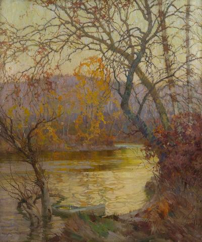 Frederick John Mulhaupt An October Evening