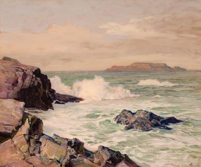 Frederick Judd Waugh Distant Island