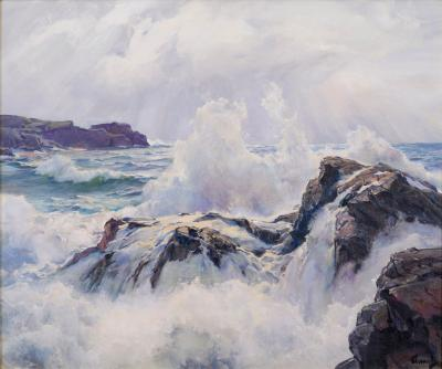 Frederick Judd Waugh Foam and Cloud