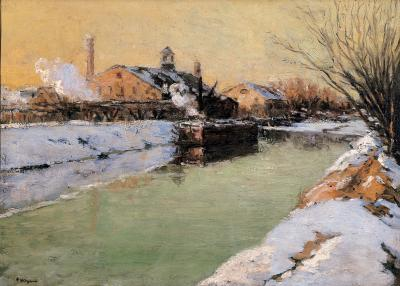 Frederick R Wagner Winter Canal