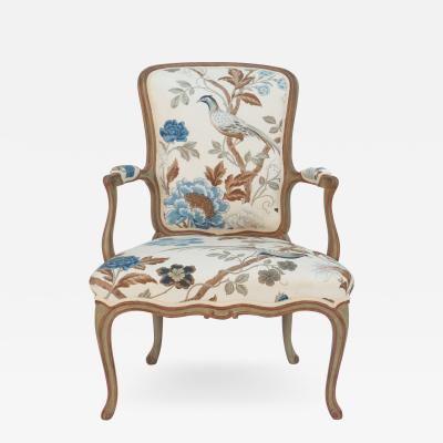 Frederick Victoria Cole Porter Louis XV Style Armchair