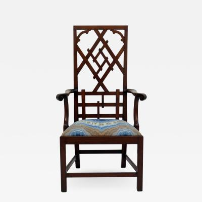Frederick Victoria Diamond Back Fretwork Chair
