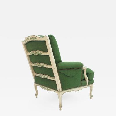 Frederick Victoria Louis XV style Ladder Back Bergere Armchair