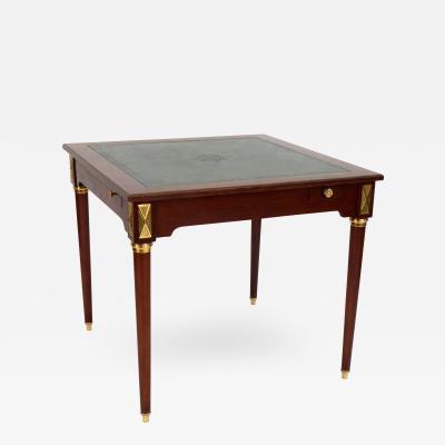 Frederick Victoria Louis XVI Style Game Table