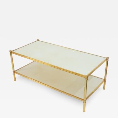 Frederick Victoria Rose Gold Cole Porter Coffee Table