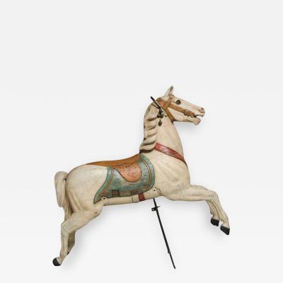 Fredrich Heyn Chahut Carousel Horse by Fredrich Heyn