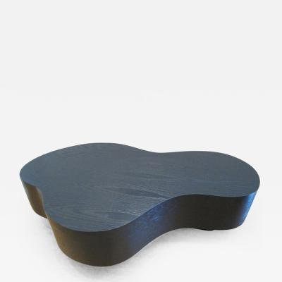 Freeform Black Ebonized Oak Coffee Table