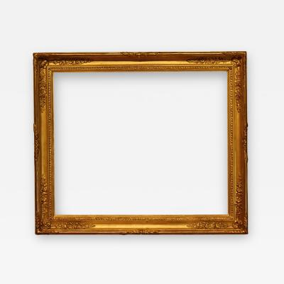 French 1820 Gold Leaf Empire Picture Frame 24x29
