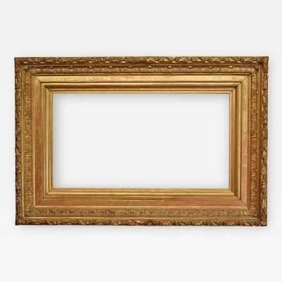 French 1875 Designed Scoop Picture Frame 26x48