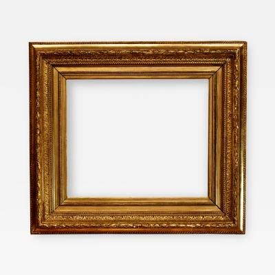 French 1880 Fluted Cove Picture Frame 18x21