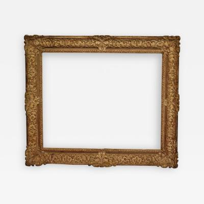 French 18th Century Carved Picture Frame 32x39