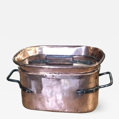 French 18th Century Copper Pressure Cooker