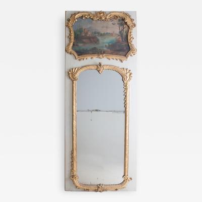 French 18th Century Louis XV Trumeau