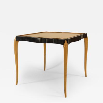 French 1930 Sycamore Game Table