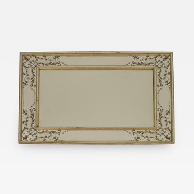 French 1940s Rectangular Wall Mirror