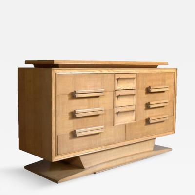 French 1950s Elm Commode
