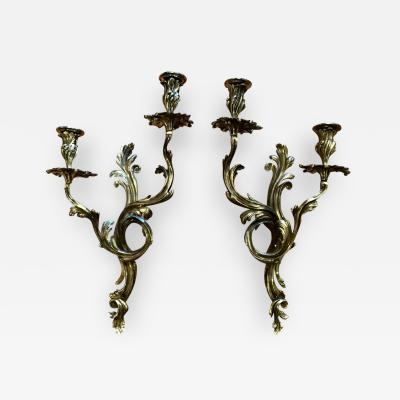 French 19c Sconces