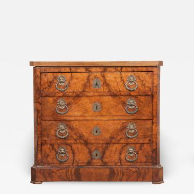 French 19th Century Burl Commode
