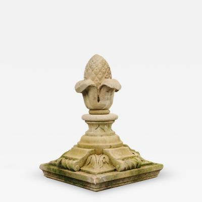 French 19th Century Cast Stone Finial