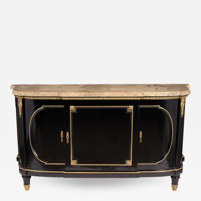 French 19th Century Ebonized Louis XVI Buffet