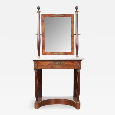 French 19th Century Empire Style Dressing Table
