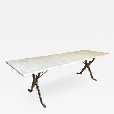 French 19th Century Garden Dining Table