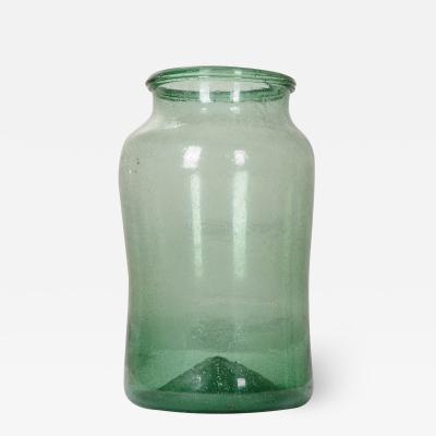 French 19th Century Glass Jar