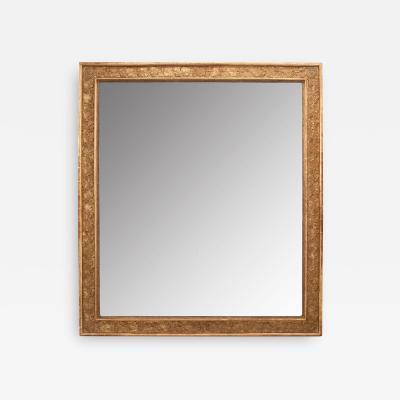 French 19th Century Grand Gold Gilt Mirror