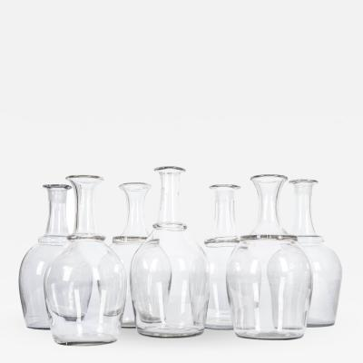French 19th Century Hand Blown Calvados Decanters