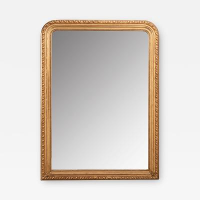 French 19th Century Louis Philippe Giltwood Mirror