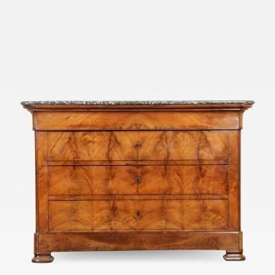 French 19th Century Louis Philippe Mahogany Commode