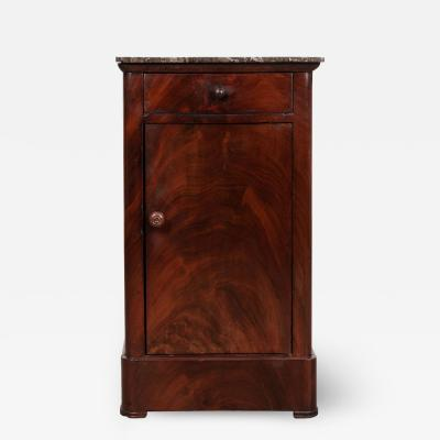 French 19th Century Louis Philippe Style Bedside Cabinet