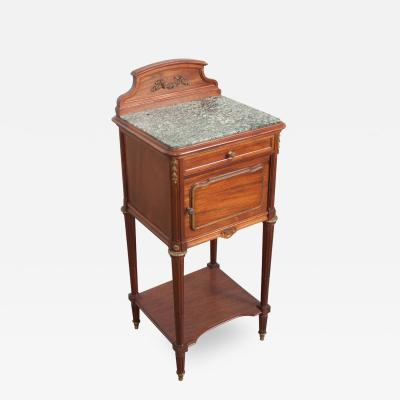 French 19th Century Louis XVI Style Bedside Table
