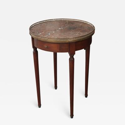 French 19th Century Louis XVI Style Mahogany Gueridon Table