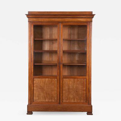 French 19th Century Mahogany Biblioth que